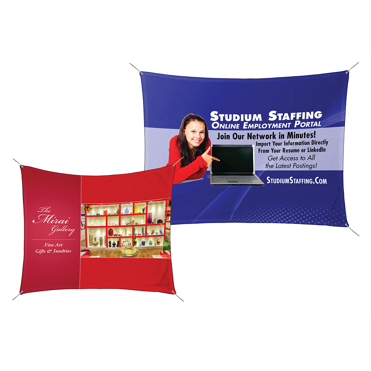 Polar Fleece Banners